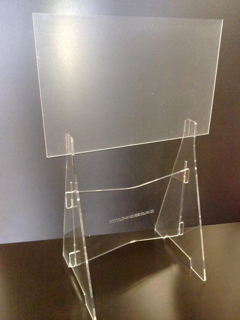 kunststof snijden projectiescherm